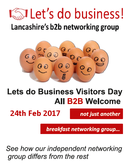 Visitors Day Feb 2017 - book on eventbrite - Lets Do Business